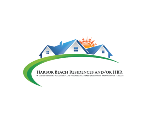 Harbor Beach Residences and/or HBR A Logo, Monogram, or Icon  Draft # 82 by myson