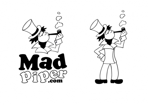 Mad Piper A Logo, Monogram, or Icon  Draft # 125 by adamuk