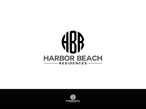 Harbor Beach Residences and/or HBR Logo Winning Design by Designboss