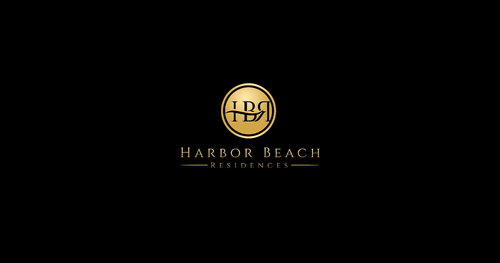 Harbor Beach Residences and/or HBR A Logo, Monogram, or Icon  Draft # 171 by SahasraDesigns