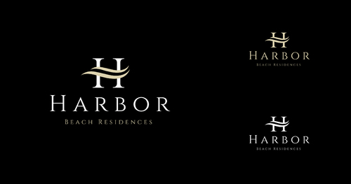 Harbor Beach Residences and/or HBR A Logo, Monogram, or Icon  Draft # 174 by SahasraDesigns
