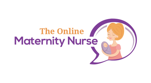 The Online Maternity Nurse A Logo, Monogram, or Icon  Draft # 24 by EXPartLogo
