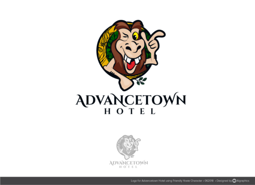 THE ADVANCETOWN HOTEL  A Logo, Monogram, or Icon  Draft # 11 by ALgraphics