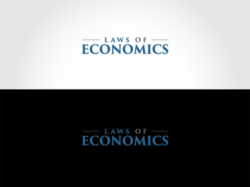 Laws of Economics A Logo, Monogram, or Icon  Draft # 44 by LogoSmith2