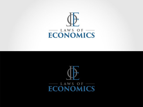 Laws of Economics A Logo, Monogram, or Icon  Draft # 45 by LogoSmith2