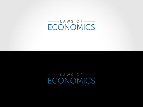 Laws of Economics A Logo, Monogram, or Icon  Draft # 46 by LogoSmith2