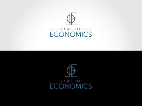 Laws of Economics A Logo, Monogram, or Icon  Draft # 47 by LogoSmith2