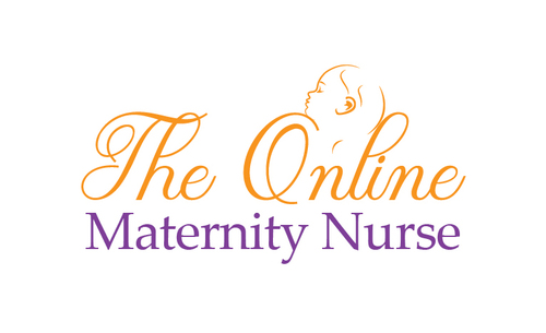 The Online Maternity Nurse A Logo, Monogram, or Icon  Draft # 68 by EXPartLogo