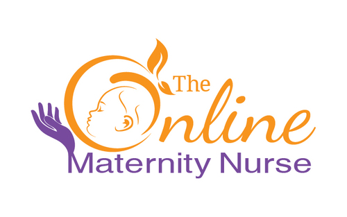 The Online Maternity Nurse A Logo, Monogram, or Icon  Draft # 69 by EXPartLogo