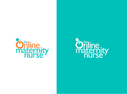 The Online Maternity Nurse A Logo, Monogram, or Icon  Draft # 92 by odc69