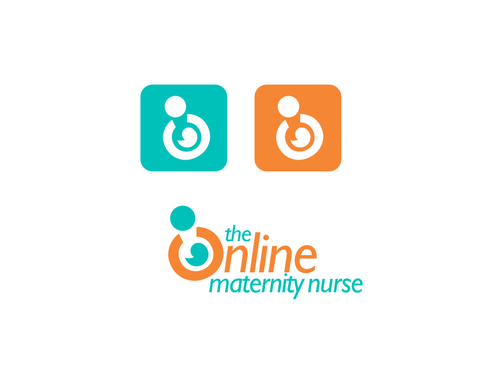 The Online Maternity Nurse A Logo, Monogram, or Icon  Draft # 93 by odc69