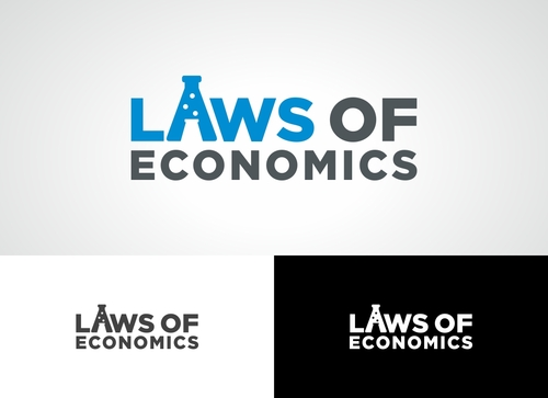 Laws of Economics A Logo, Monogram, or Icon  Draft # 81 by Adwebicon