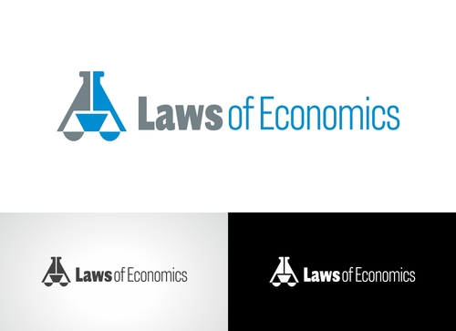 Laws of Economics A Logo, Monogram, or Icon  Draft # 82 by Adwebicon