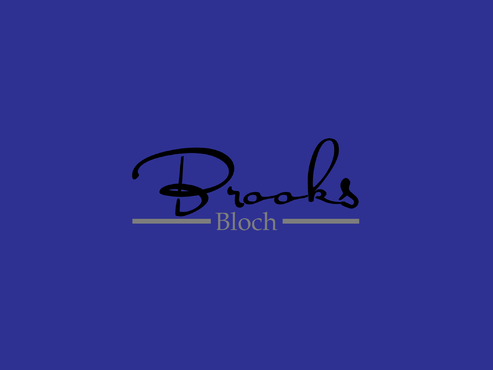 Brooks Bloch A Logo, Monogram, or Icon  Draft # 329 by AstridDesign