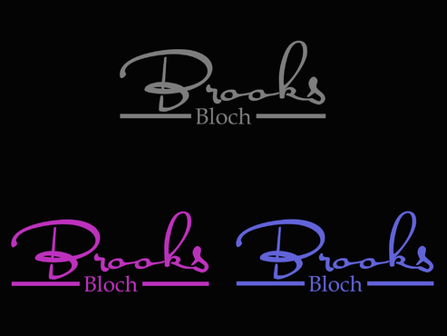 Brooks Bloch A Logo, Monogram, or Icon  Draft # 331 by AstridDesign