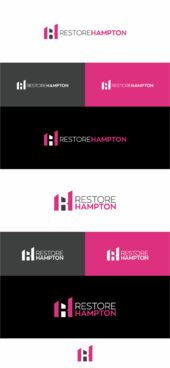 RestoreHampton Logo Winning Design by creativelogodesigner