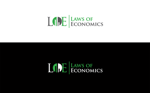 Laws of Economics A Logo, Monogram, or Icon  Draft # 150 by LogoSmith2