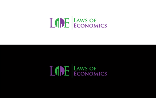 Laws of Economics A Logo, Monogram, or Icon  Draft # 151 by LogoSmith2