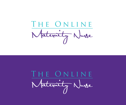 The Online Maternity Nurse A Logo, Monogram, or Icon  Draft # 177 by shivabomma