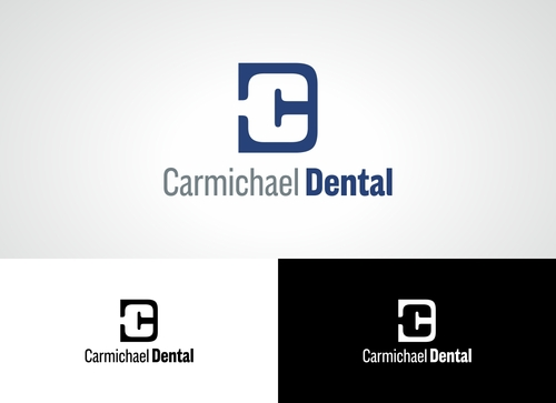 Carmichael Dental  A Logo, Monogram, or Icon  Draft # 73 by Adwebicon