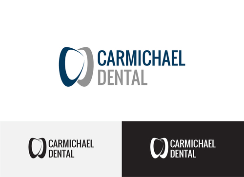 Carmichael Dental  A Logo, Monogram, or Icon  Draft # 74 by Adwebicon