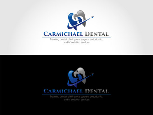 Carmichael Dental  A Logo, Monogram, or Icon  Draft # 90 by LogoSmith2