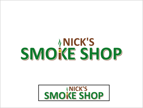 Nick's Smoke Shop A Logo, Monogram, or Icon  Draft # 118 by thebullet