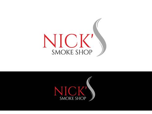 Nick's Smoke Shop A Logo, Monogram, or Icon  Draft # 132 by Designeye