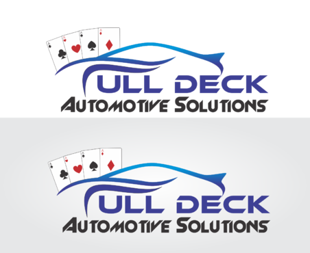 Full Deck Automotive Solutions A Logo, Monogram, or Icon  Draft # 71 by IlhamPatapangDesign