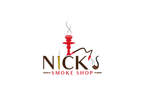 Nick's Smoke Shop A Logo, Monogram, or Icon  Draft # 172 by Adwebicon