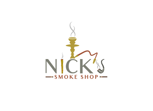 Nick's Smoke Shop A Logo, Monogram, or Icon  Draft # 173 by Adwebicon