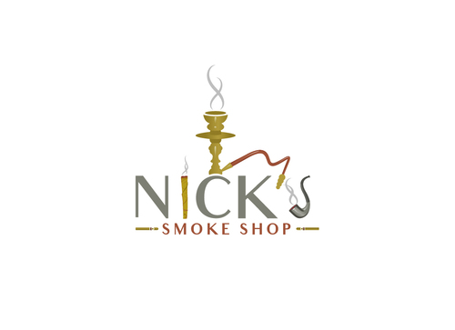 Nick's Smoke Shop A Logo, Monogram, or Icon  Draft # 174 by Adwebicon