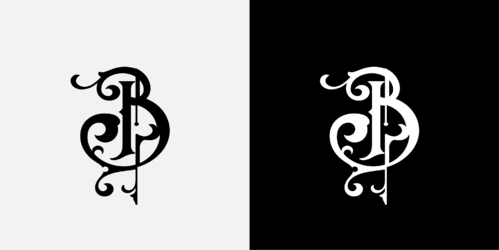 B (and whatever part of Bagwell designer creates) A Logo, Monogram, or Icon  Draft # 47 by scisorssdesign