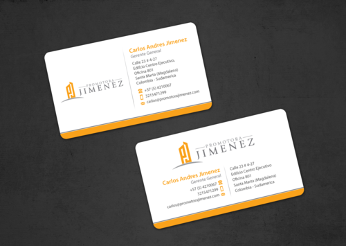 Promotora Jimenez Business Cards and Stationery Winning Design by einsanimation