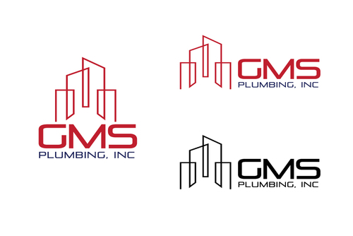 GMS Plumbing, Inc. A Logo, Monogram, or Icon  Draft # 110 by TheTanveer