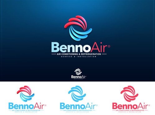 BennoAir  A Logo, Monogram, or Icon  Draft # 164 by antoneofull