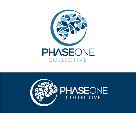 PHASE ONE COLLECTIVE A Logo, Monogram, or Icon  Draft # 2 by Stardesigns