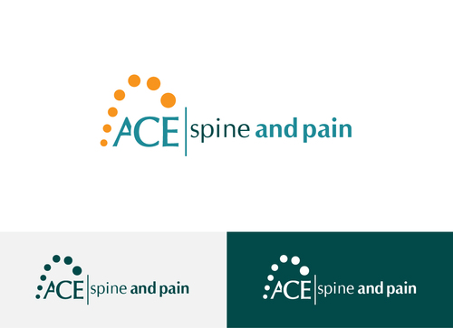 ACE spine and pain  A Logo, Monogram, or Icon  Draft # 62 by Adwebicon