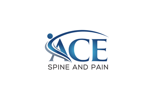 ACE spine and pain  A Logo, Monogram, or Icon  Draft # 65 by Stardesigns