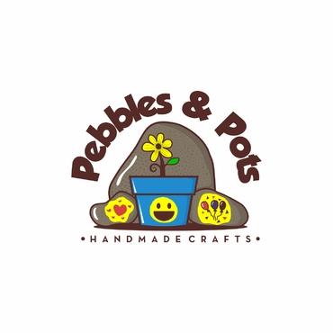Pebbles & Pots A Logo, Monogram, or Icon  Draft # 28 by SeranggaOtak
