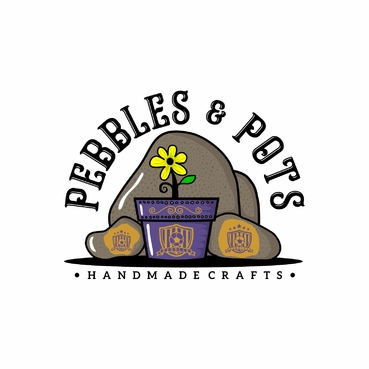 Pebbles & Pots A Logo, Monogram, or Icon  Draft # 44 by SeranggaOtak