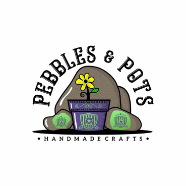 Pebbles & Pots A Logo, Monogram, or Icon  Draft # 45 by SeranggaOtak