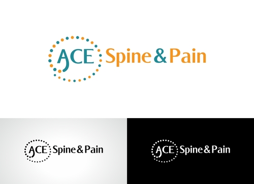 ACE spine and pain  A Logo, Monogram, or Icon  Draft # 86 by Adwebicon