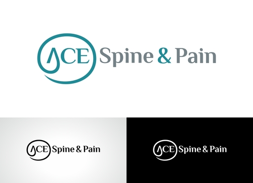 ACE spine and pain  A Logo, Monogram, or Icon  Draft # 87 by Adwebicon
