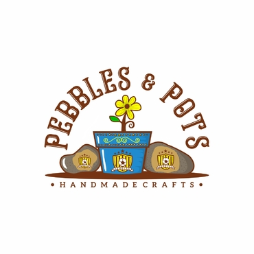 Pebbles & Pots A Logo, Monogram, or Icon  Draft # 51 by SeranggaOtak