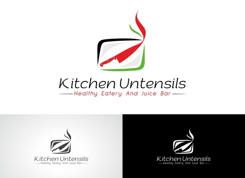 clean cuisine in a kitchen environment /kitchen untensils A Logo, Monogram, or Icon  Draft # 29 by Adwebicon