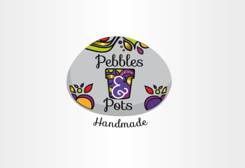 Pebbles & Pots A Logo, Monogram, or Icon  Draft # 59 by nelly83