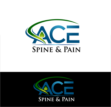 ACE spine and pain  A Logo, Monogram, or Icon  Draft # 114 by Stardesigns