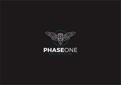 PHASE ONE COLLECTIVE Logo Winning Design by hambaAllah
