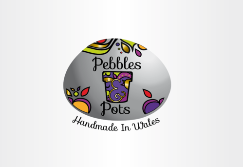 Pebbles & Pots A Logo, Monogram, or Icon  Draft # 71 by nelly83